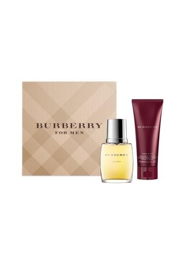 Burberry Classic EDT 50 ml + 75 ml After Shave Balm Erkek Parfüm Seti Renksiz